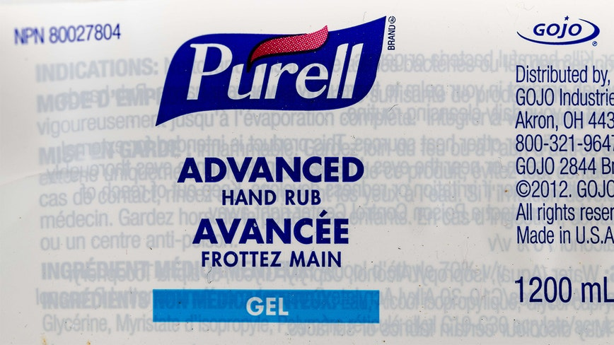 FDA warns Purell to stop claiming its hand sanitizer can prevent Ebola