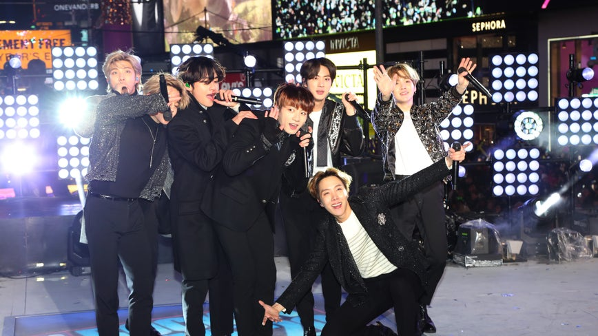 BTS playing two shows at Cotton Bowl in Dallas