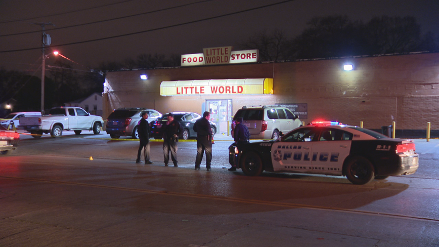Security guard shot outside South Dallas convenience store