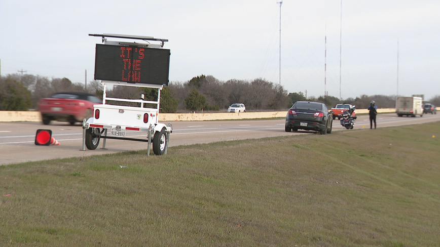 Cedar Hill PD issue warnings to raise awareness of Slow Down/Move Over law