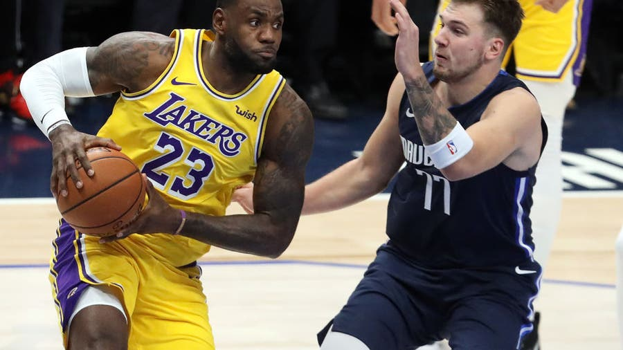 LeBron James, Luka Doncic still leading NBA All-Star voting