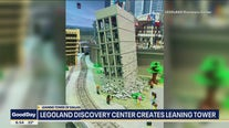 Legoland master builder recreates Leaning Tower of Dallas
