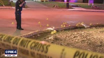 2 hurt when gunman opens fire on their van on I-35 service road