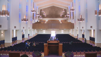 Paul Quinn College re-dedicates on-campus chapel after lengthy renovation
