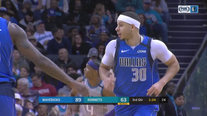 Curry returns home, scores 26 as Mavs rout Hornets 116-100