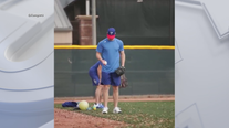 Spring training begins for Rangers pitchers and catchers