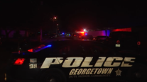 Two Georgetown police officers shot, suspect killed in late night shooting