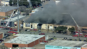 No injuries after warehouse fire in Dallas Design District