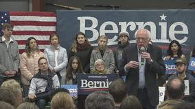 Bernie Sanders holds rally in Mesquite Friday night