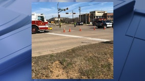 Woman killed in Grapevine crash after police say driver ran red light