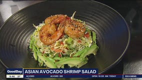 Asian Avocado Shrimp Salad