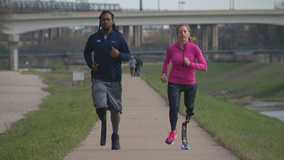 Local runners looking forward to Cowtown race despite physical challenges