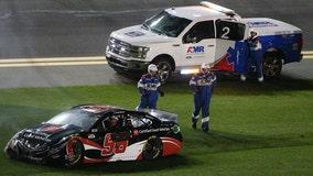 Suarez wrecks in qualifier, fails to land Daytona 500 spot