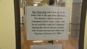 Flu outbreak closes North Texas school district
