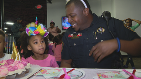 Fort Worth deputy throws surprise birthday party for 4-year-old he's formed a special bond with