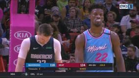 Heat spoil Doncic's 21st birthday, top Mavericks 126-118
