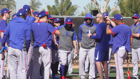 Texas Rangers players leaving spring training to return home