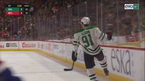 Seguin's overtime goal gives Stars 4-3 win over Canadiens