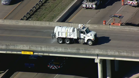 TxDOT crews prepare roads for possible winter weather on Wednesday