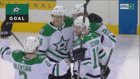 Johns, Comeau help Stars beat Lundqvist, Rangers 5-3