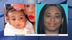 Amber Alert issued for 8-month-old Mesquite girl