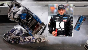 Racing team for Ryan Newman says he is 'awake and speaking' at the hospital