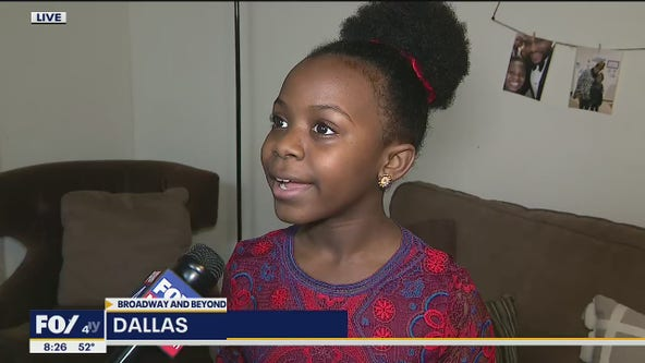 Dallas 11-year-old returns home after Broadway debut