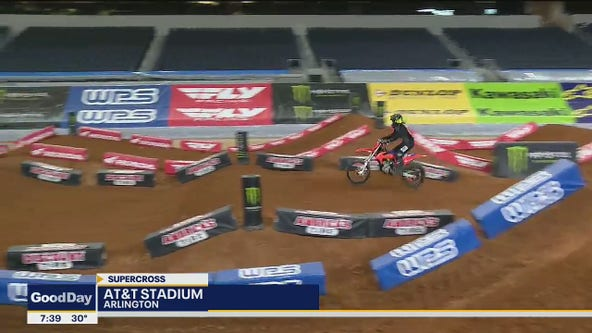 Supercross returns to AT&T Stadium this weekend
