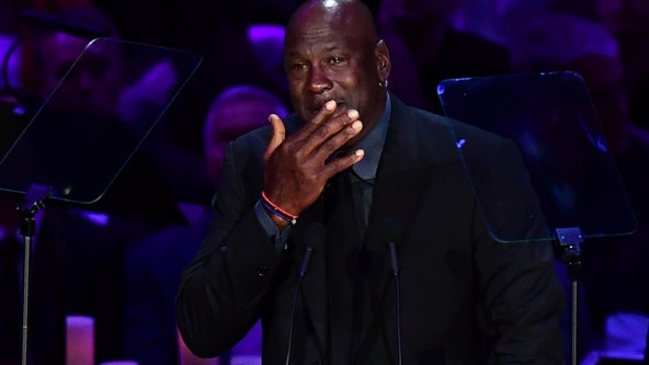 'When Kobe Bryant died, a piece of me died': Michael Jordan tearfully pays tribute to Kobe