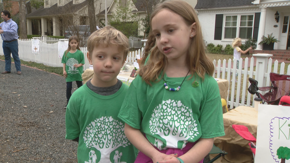 Dallas 7-year-old hopes to replant 3,000 trees in neighborhoods affected by Dallas tornado