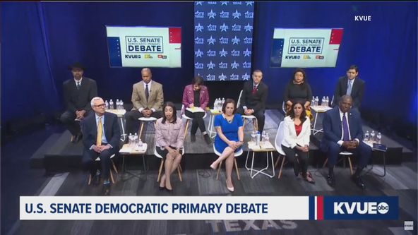 Democratic candidates for Texas U.S. Senate seat debate as early voting begins