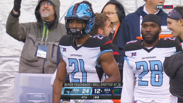 Dallas Renegades beat Seattle Dragons 24-12