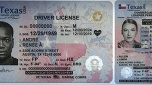 DPS begins issuing newly designed driver licenses, ID cards and license to carry cards