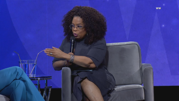 Oprah stops in Dallas as part of her 2020 Vision Tour