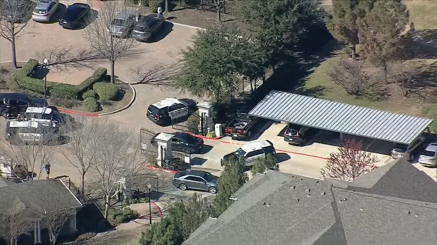 2 in custody, 1 at-large after Allen apartment shooting