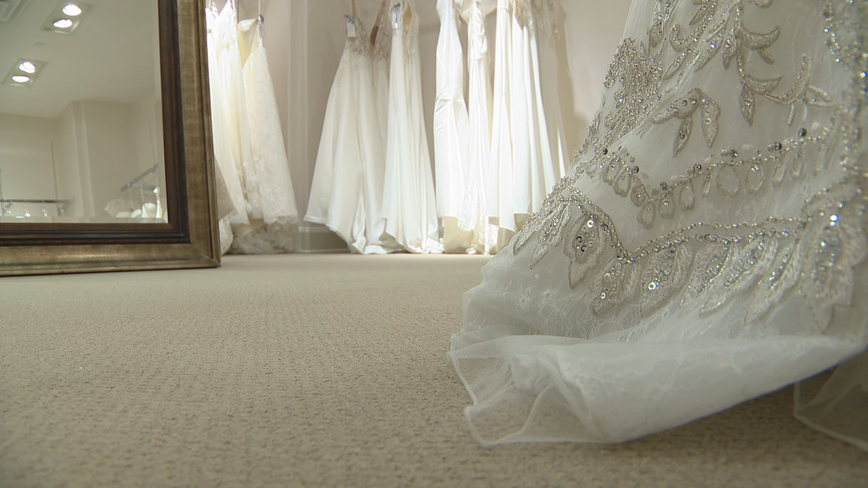Coronavirus causing shipment delays in bridal dresses and other wedding day necessities