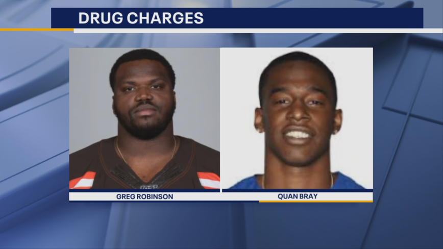 Cleveland Browns offensive tackle Greg Robinson arrested in Texas on drug charges