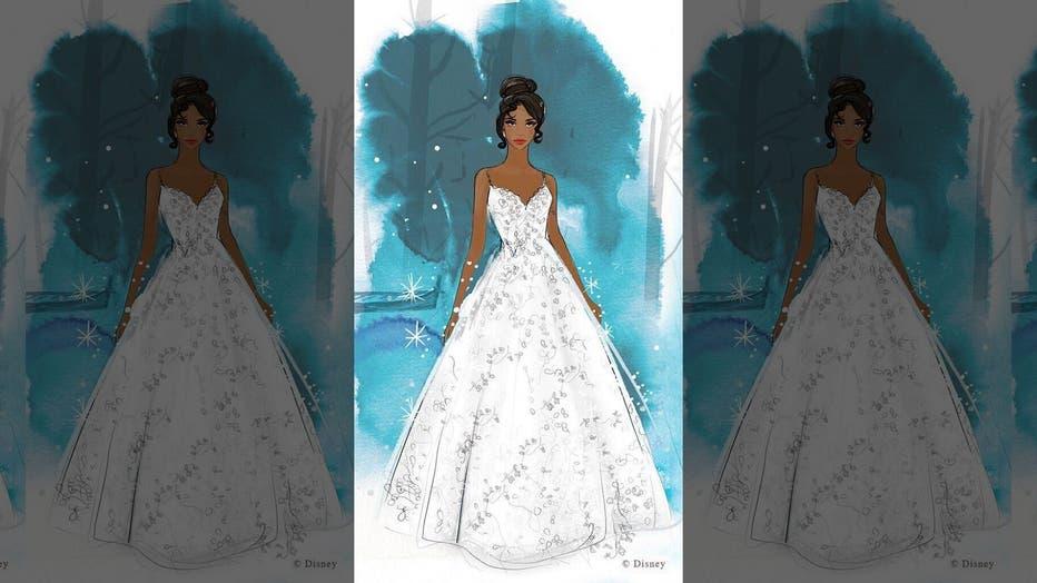 Disney Unveils Princess Inspired Wedding Dress Line Fox