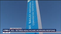 Retired healthcare workers step up to help Dallas County during COVID-19 outbreak