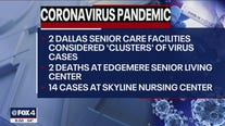 COVID-19 outbreak at Dallas County nursing facilities