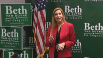 Beth Van Duyne leads Republican primary for US House District 24, while Democratic race appears set for runoff