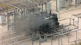 Fire crews able to put out fire at electrical substation in Grapevine
