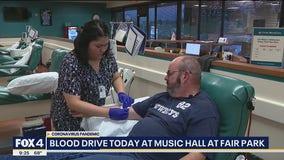 Dallas Summer Musicals hosts blood drive Friday at Fair Park