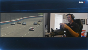 Tommy Hill wins virtual race at Texas Motor Speedway