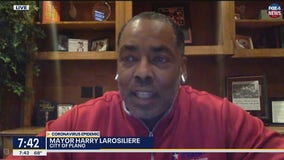 Plano Mayor Harry LaRosiliere: Simply stay home