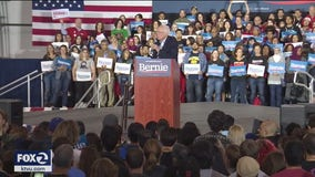 Sanders in San Jose: Senator says he is stronger candidate than Biden