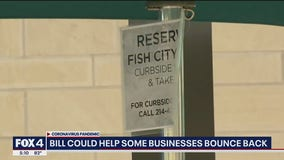 North Texas restaurants hoping stimulus package helps them recover from losses caused by COVID-19