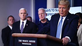 President Trump says gatherings should be limited to 10 people amid COVID-19 outbreak