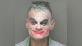 Man dressed as 'The Joker' held for allegedly making terrorist threats: police