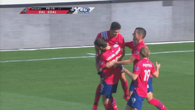 FC Dallas ties Impact on Pepi's stoppage time goal